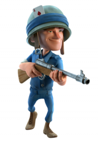 Boom Beach Rifleman